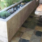 Custom Concrete Planter